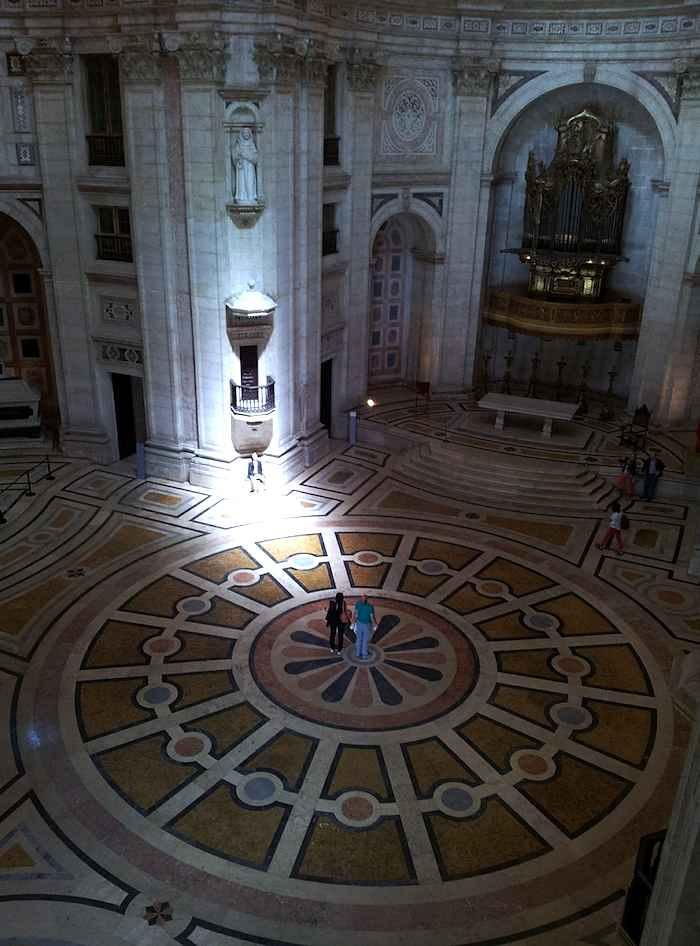 Panteão Nacional Lisboa - interior