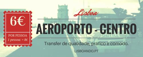 Lisboando - Transfers Shuttle Aeroporto Lisboa